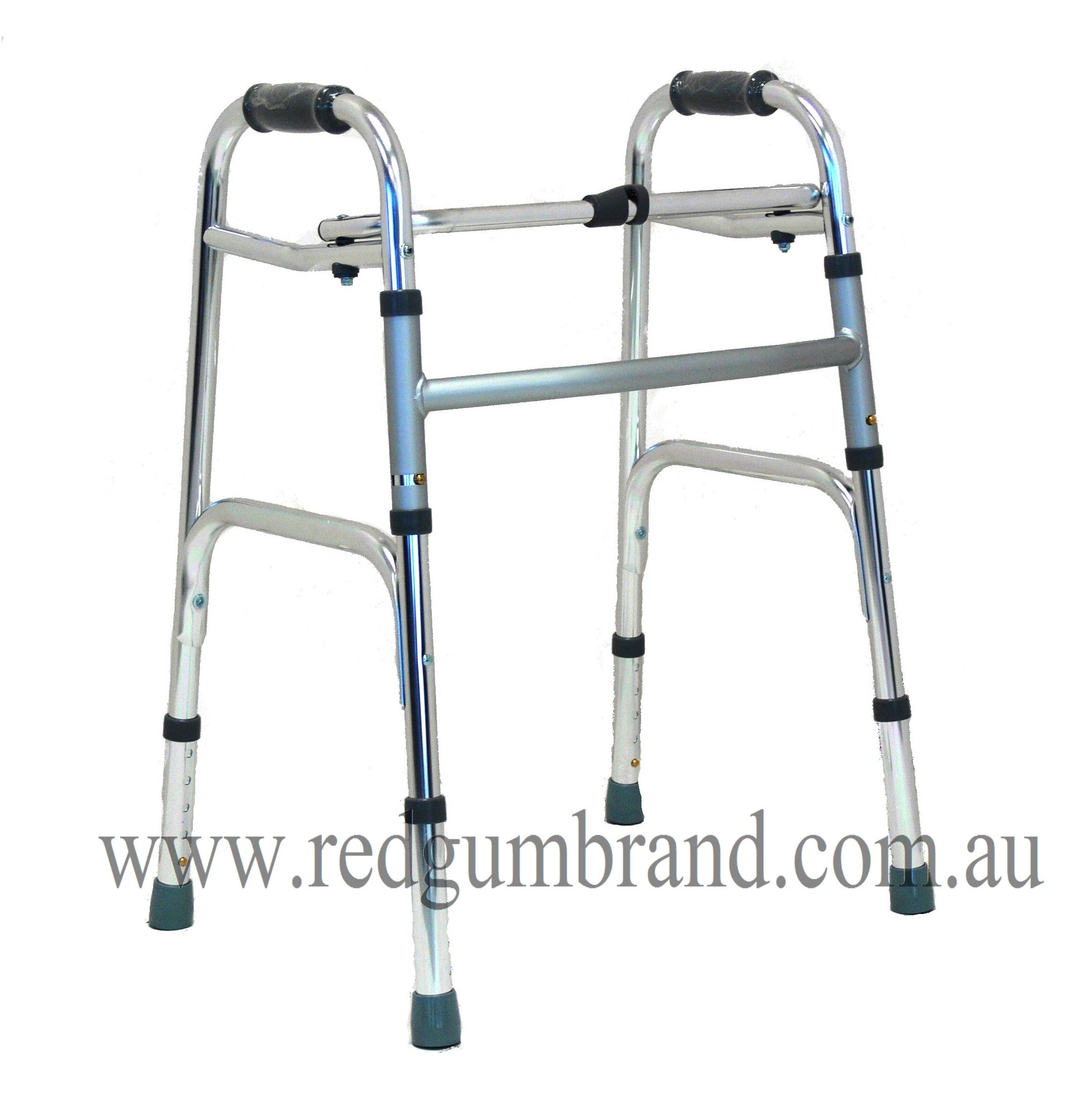 Folding walking frame (No Wheels)